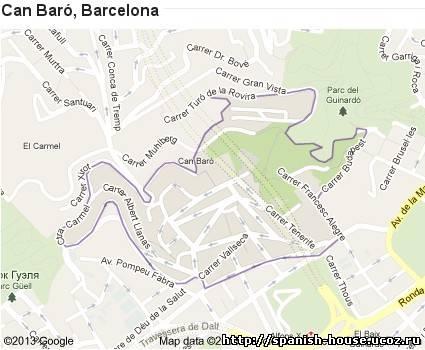 районы Барселоны